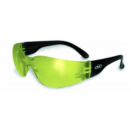 Rider  Glasses With Yellow Mirror Tint (Tinted Yellow)