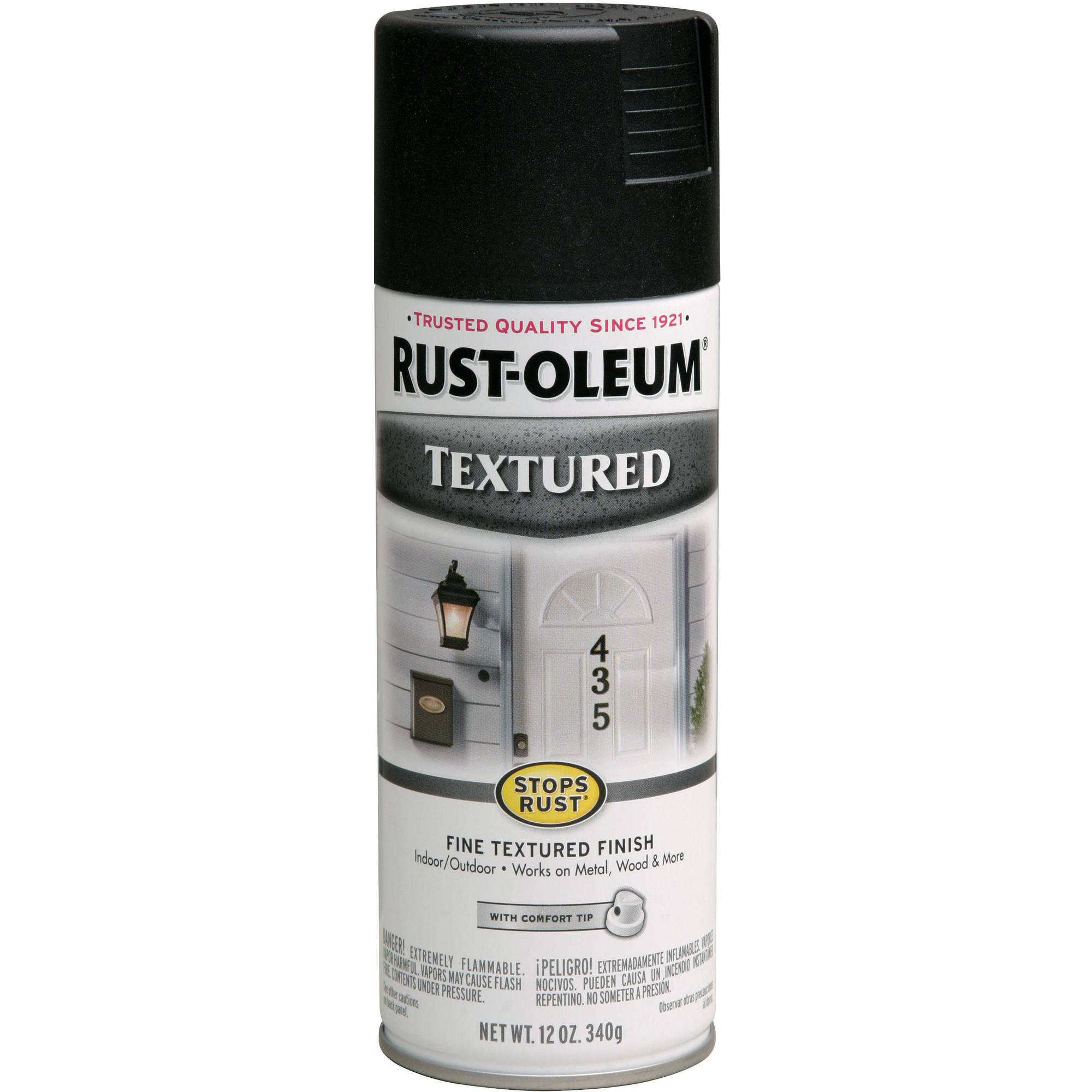 Rust-Oleum Stops Rust Textured Spray Paint