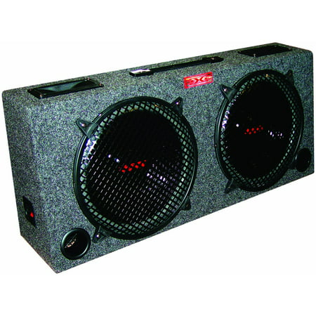 Kic100 Dual 10 Inch Car Audio Subwoofer Box with 5 Inch Tweeters 10 Inch Dual Speaker Box