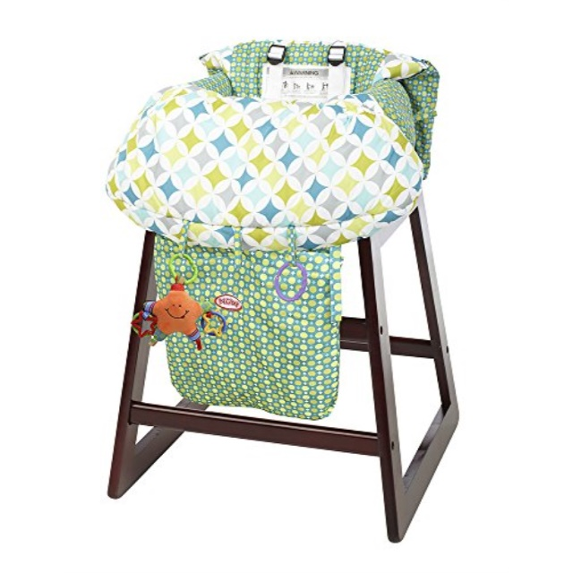 Foldable Travel Portable Baby Shopping Cart Cushion Chair Cover Protector Mat