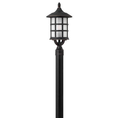 Hinkley Lighting  1801-GU24  Post Lights  Freeport  Outdoor Lighting  Pier Mount Lights  ;Olde Penny