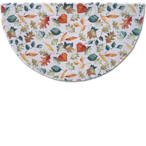 Goods Of The Woods 10880P Hearthside Printed Nylon Half Round Rug