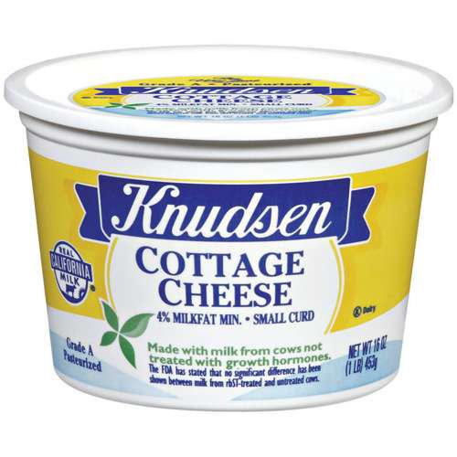 Knudsen Small Curd Cottage Cheese 16 Oz