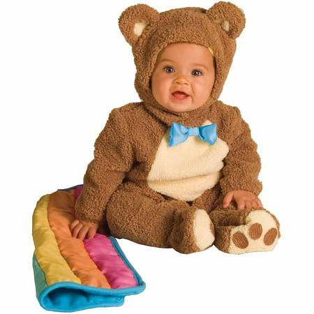Teddy Infant Halloween Costume (Halloween Costumes For Infants 3 6 Months)