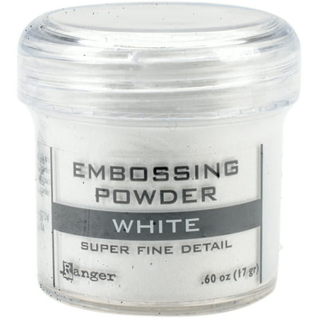 Ranger Embossing Powder-Super Fine White Super Fine Detail Embossing Powder