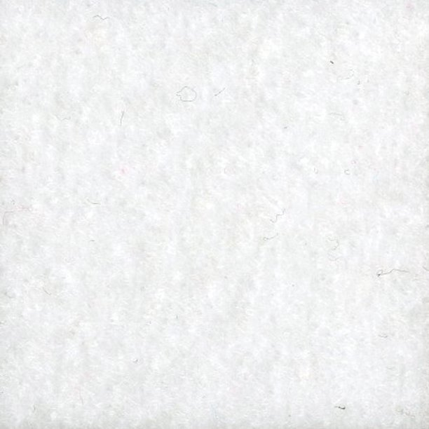 "72"" Eco-Fi Plus Premium Felt White Fabric, per Yard"