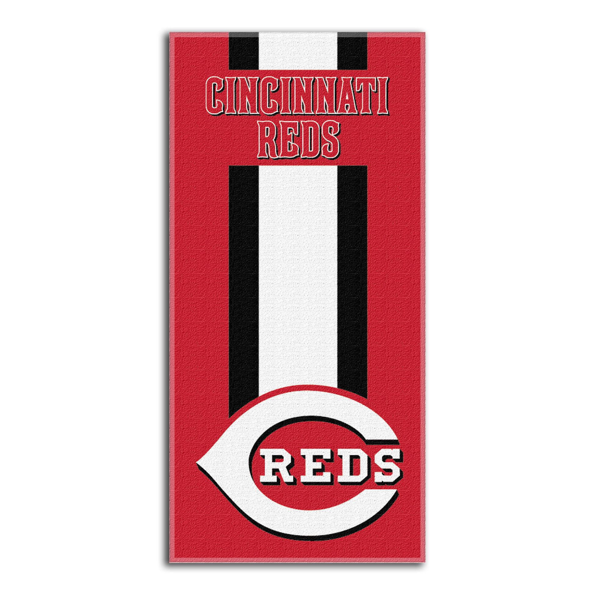 Cincinnati Reds The Northwest Company Zone Read Beach Towel - No Size