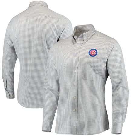finest selection b42be 4aea5 Chicago Cubs Antigua Associate Button Down Dress Shirt - White