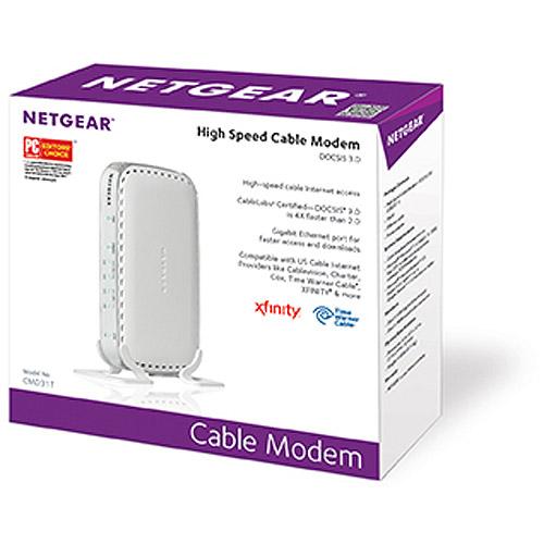 NETGEAR DOCSIS 3.0 - High Speed Cable Modem (CMD31T)