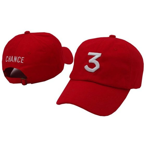 da3045d8ae5 Popular chance the rapper 3 Hat Cap Black Letter Embroidery Baseball Cap Hip  Hop Streetwear Strapback Snapback Sun Hat Bone (Color  Black) 46ZDCP2851 ...
