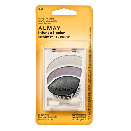 Intense i-Color Smoky, I Kit - For Hazel Eyes, Eye shadow trios are available in 4 expertly coordinated combinations. By Almay ()
