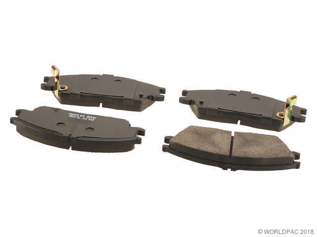 Front Ceramic Brake Pads for Hyundai Accent Excel Scoupe Mitsubishi Precis