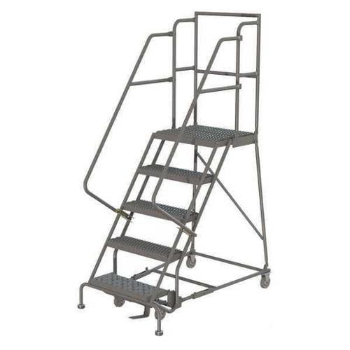Tri Arc Kdsr104246 D2 Rolling Ladder 4 Step Steel