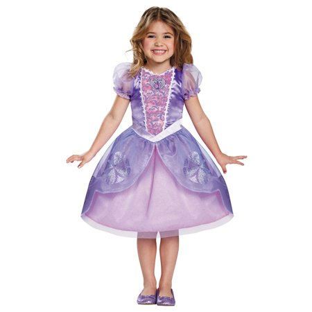 Morris Costumes Girls Princess Sofia Next Chapter Dress Costume 4-6, Style DG99493L - Costumes Online Next Day Delivery