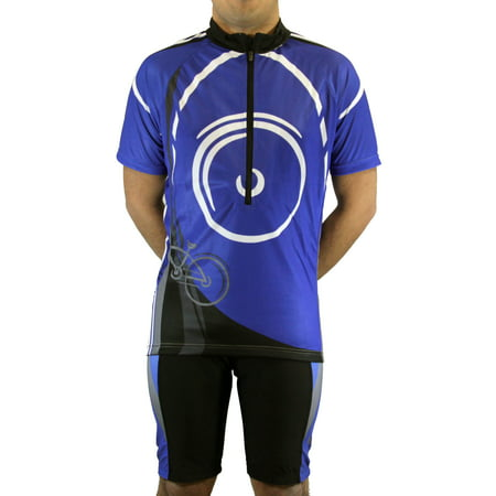 Auburn Cycling Jersey - Men's Cool Plus Sublimated Print Race Cut Short-Sleeve Biking Cycling Jersey