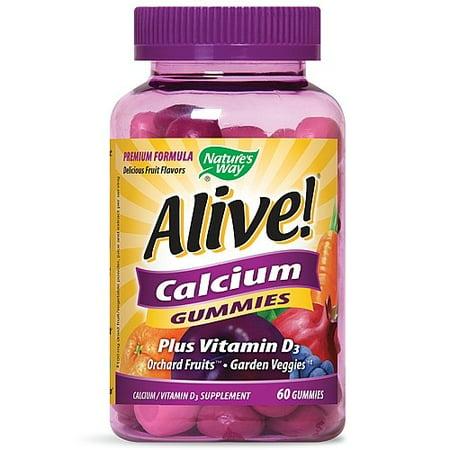 Image of Nature's Way Alive! Calcium Gummies - 60 Gummies