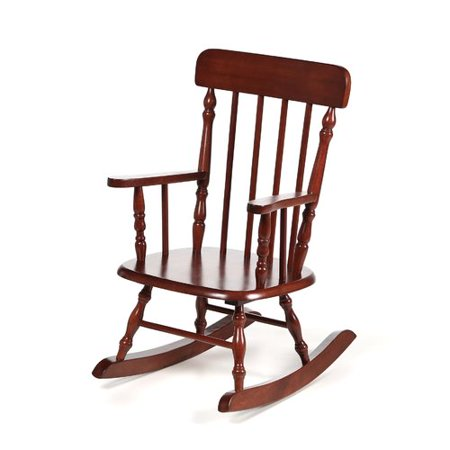 Harriet Bee Barksdale Spindle Kids Rocking Chair