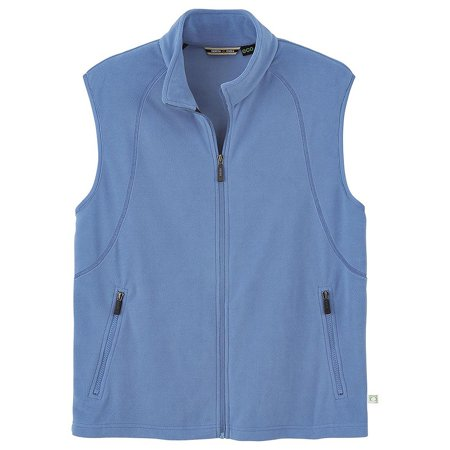 Mens Recycled Fleece Full-Zip Vest - North End (The North Face Winter Vest)