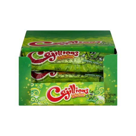 Cajillions Chewy Candy Green Apple, 1.9 OZ