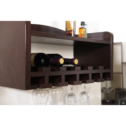 Darby Home Co Sullivan 6 Bottle Wall Mounted Wine Rack Walmartcom
