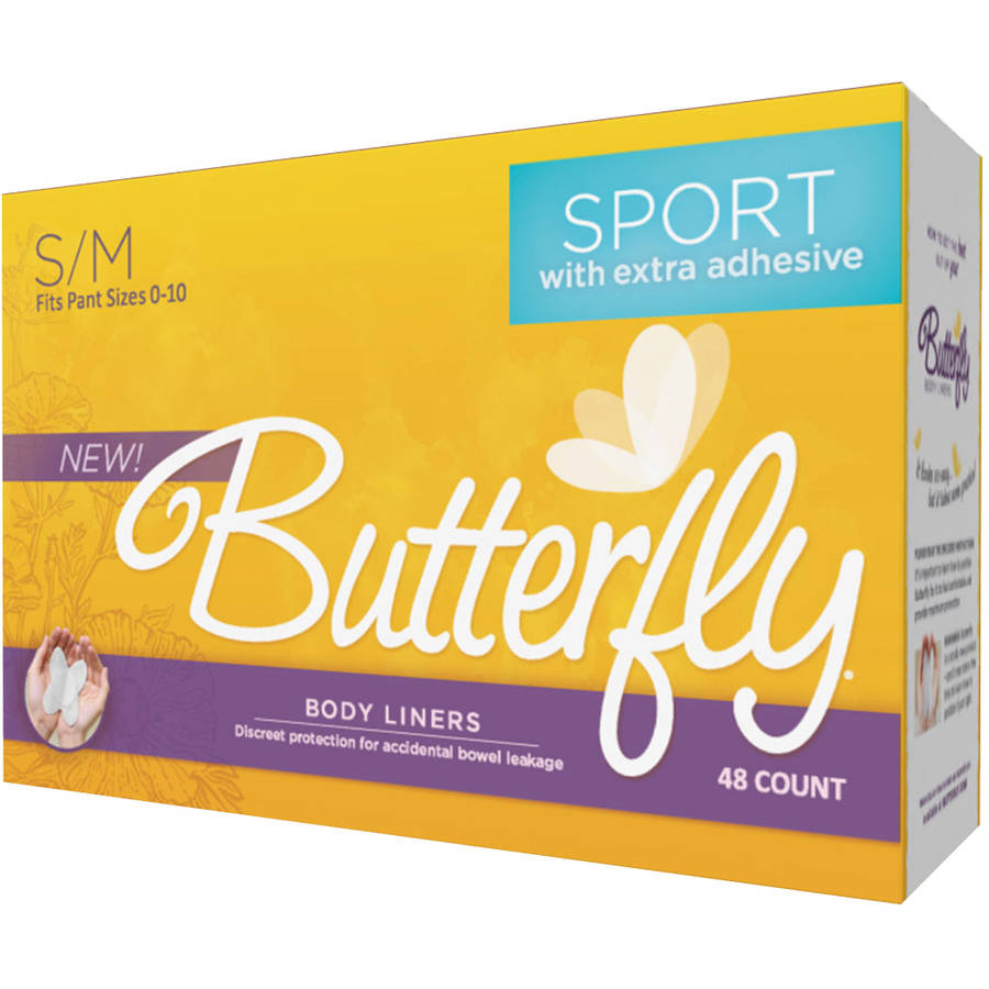 Butterfly Sport Body Liners, S/M, 48 count