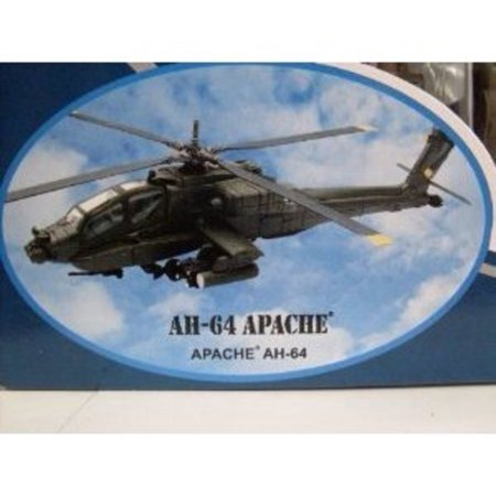 Boeing AH-64 Apache Diecast Military Helicopter 1:55 Scale - Model Kit ()