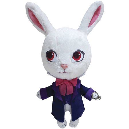 Alice Through The Looking Glass Live Action Plush, White Rabbit Baby
