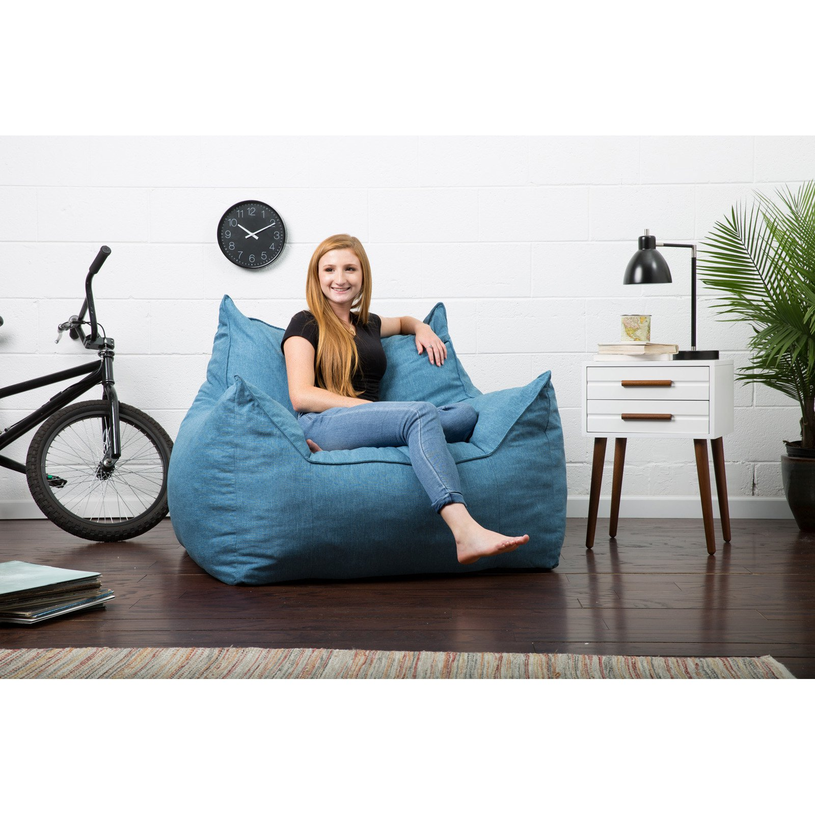Surprising Lux By Big Joe Imperial Lounger Union Bean Bag Cjindustries Chair Design For Home Cjindustriesco