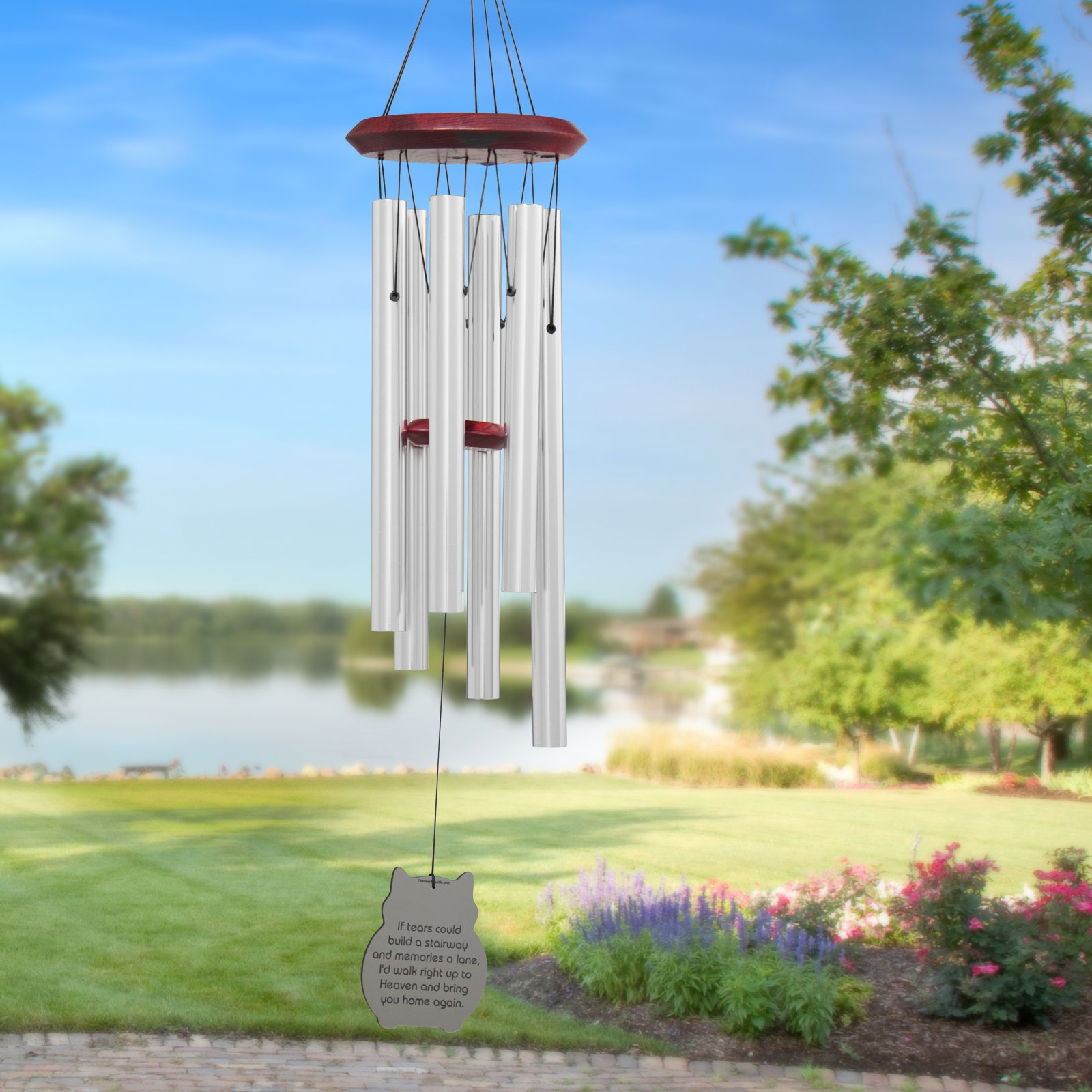 Chimes of Your Life Cat If Tears Pet Memorial Wind Chime by Chimes of Your Life