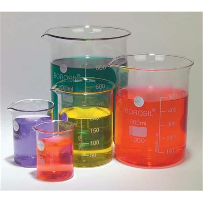 Olympia Sports 16053 Glass Beaker Set - Set of 5
