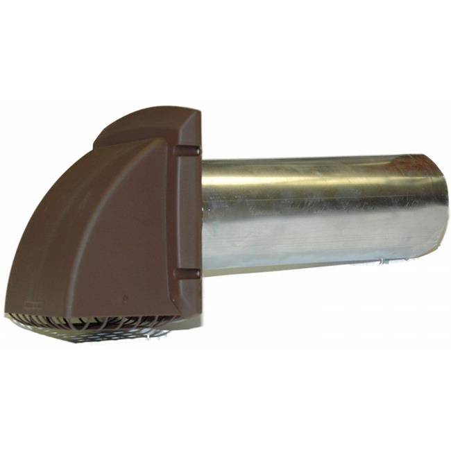 4in. Brown Maxi-Flow Style Vent - image 1 of 1