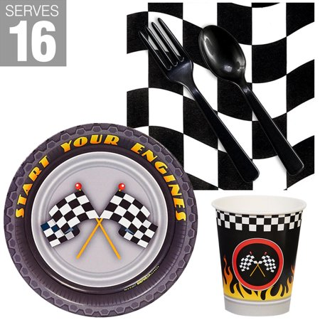 Racecar Racing Party Snack Pack For - Halloween Snack Ideas For Kids Party