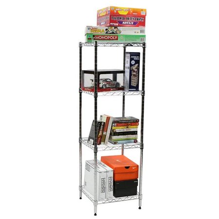 Apollo Hardware 4-Shelf 48'' H x 15'' W Shelving (Ace Hardware Shelves)