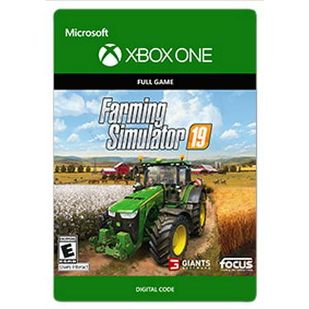 Farming Simulator 19, Focus Home Interactive, Xbox, [Digital Download] (Flight Simulator Digital Download)