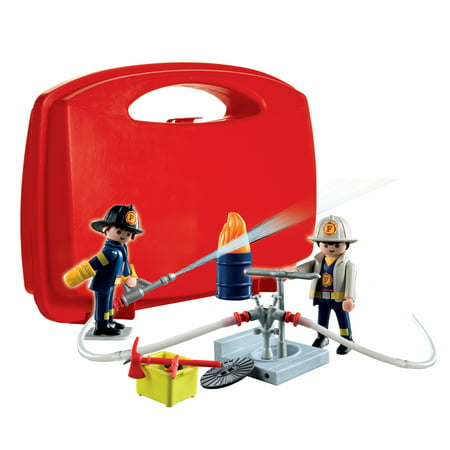 PLAYMOBIL Fire Rescue Carry Case ()
