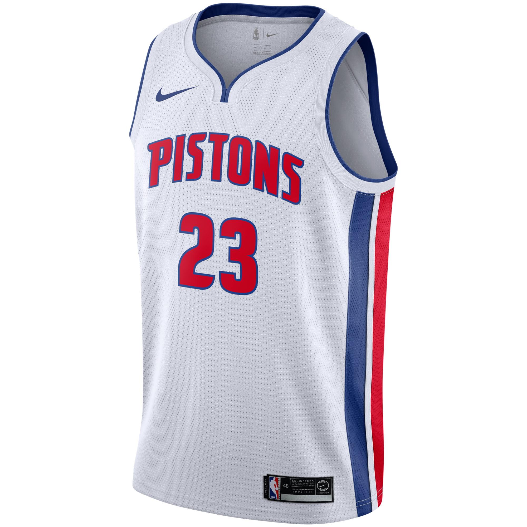 0f816113f Blake Griffin Detroit Pistons Nike Replica Swingman Jersey - Association  Edition - White - Walmart.com