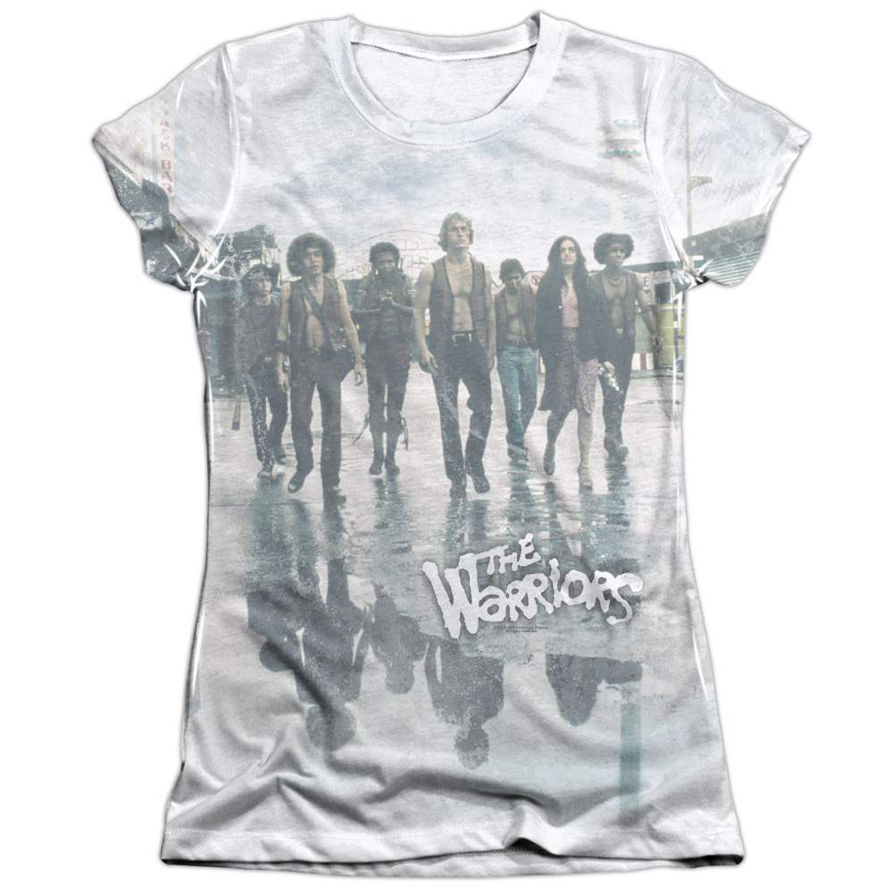 The Warriors Strolling Juniors Sublimation Shirt