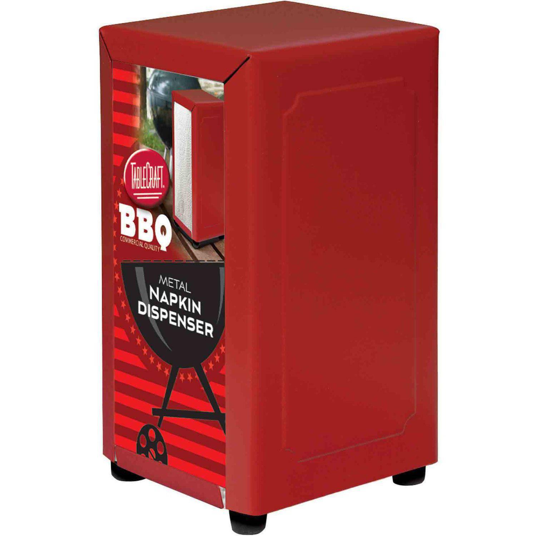 TableCraft Red Napkin Dispenser