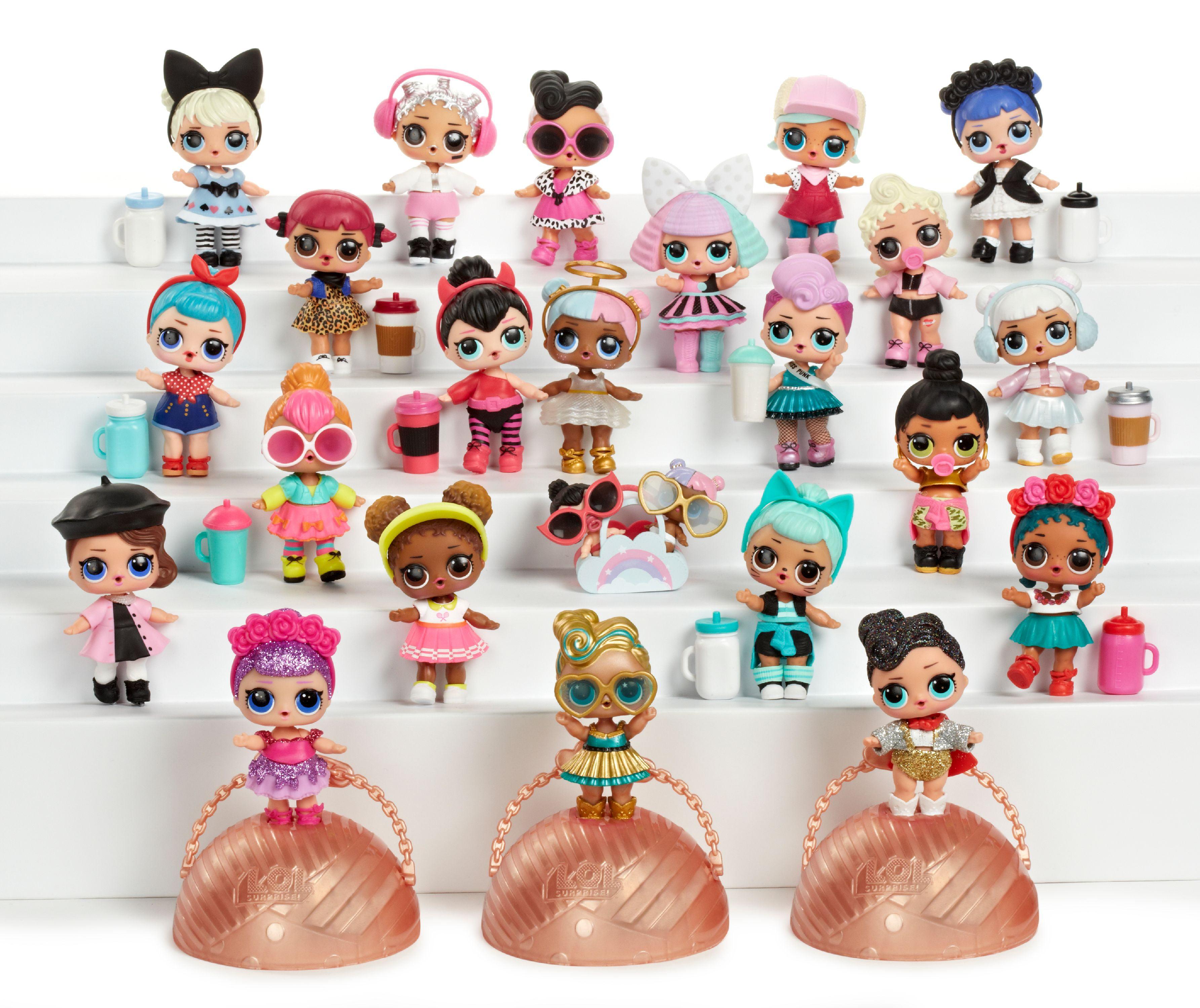 L O L Surprise Tots Ball Doll Walmart Com Walmart Com