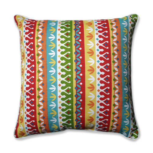 Pillow Perfect Outdoor/ Indoor Cotrell Garden 25-inch Floor Pillow