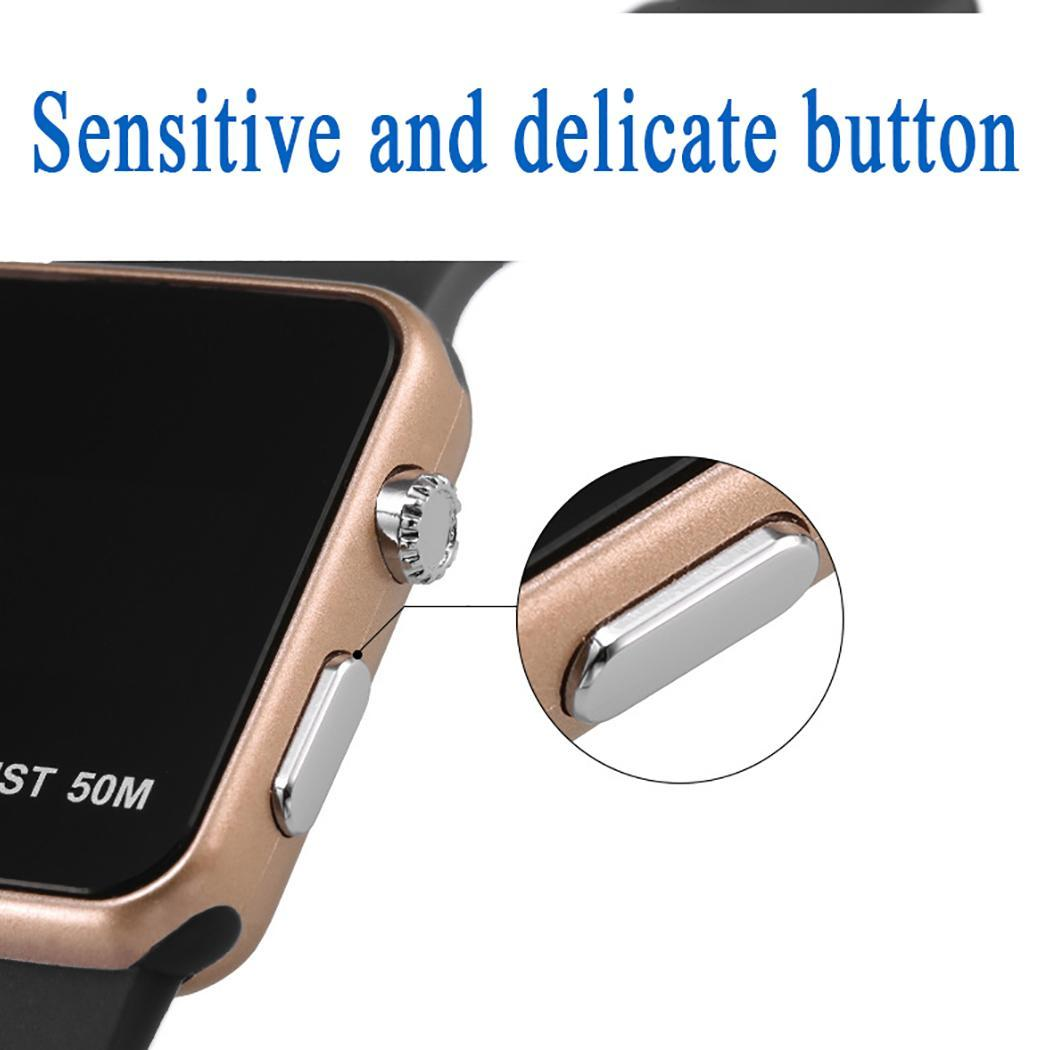 Multifunction Student LED Sports Smart Watch Wristwatches for Lovers Caroj - image 5 of 8