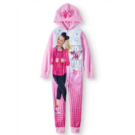 b8545a2140 JOJO - Jojo Onesie Sleeper Pajama (Big Girl   Little Girl) - Walmart.com
