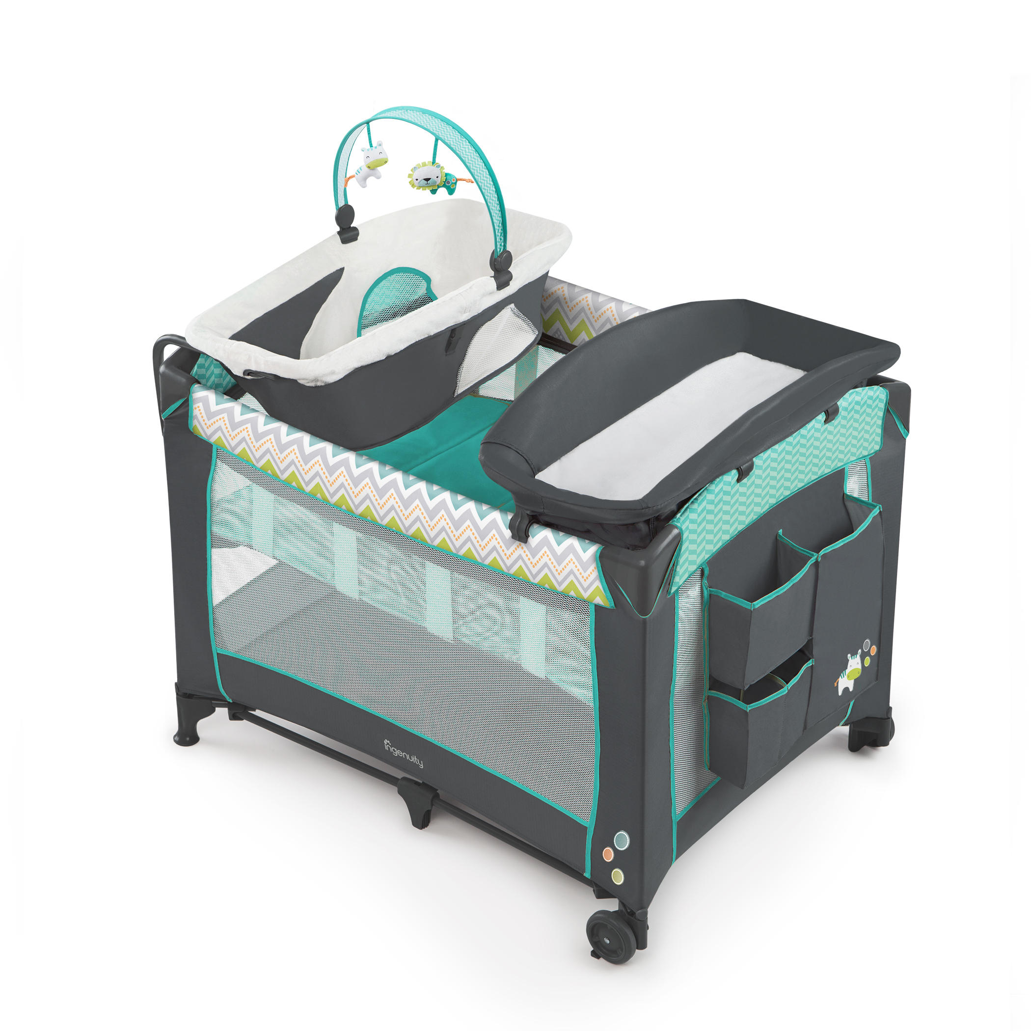 Ingenuity Smart and Simple Play Pen, Moreland by Ingenuity