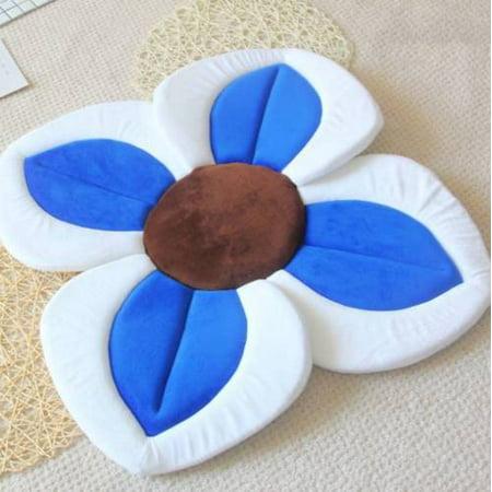 Blooming Flower Mini Soft Bath Baby Bath Tub Lovely Mat Blooming