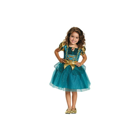 Cheap Merida Costume (Disney's Brave Princess Merida Little Girls)