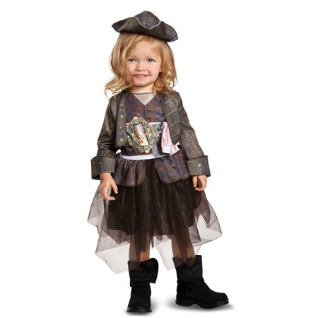 Girls Captain Jack Inspired Tutu Classic Toddler Costume