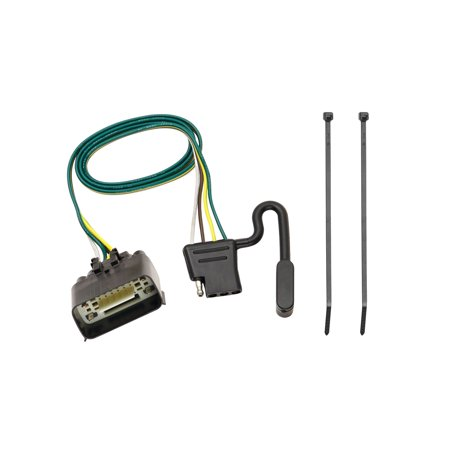 Fantastic Tekonsha 118260 Trailer Wiring Connector 4 Way Flat Replacement For Wiring Database Wedabyuccorg