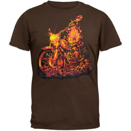 Ghost Rider - Bone Crusher T-Shirt (Graphic Crusher)