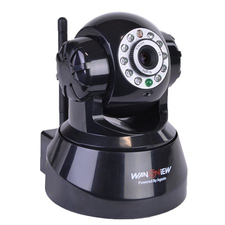 Refurbished Wansview Wireless Remote IP Network Surveillance Camera Night,  Pan, Tilt, Mic