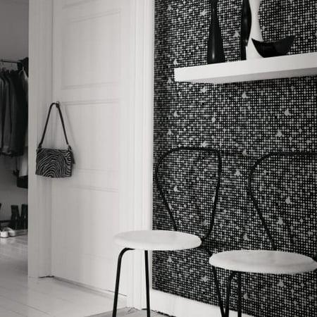 RoomMates Black Polka Dot Peel & Stick Wallpaper - Walmart.com